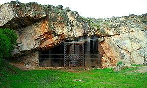 Cáceres, Spain - Maltravieso Cave.