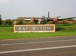 Entrance to RAF Wyton - geograph.org.uk - 262207.jpg
