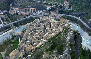 Entrevaux Commune in Provence-Alpes-Côte dAzur, France