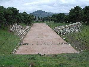 Epidaurus - Image: Epidauros Stadion 1