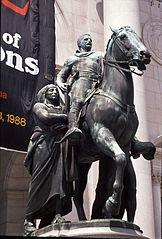 Equestrian Statue of Theodore Roosevelt