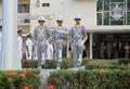Escolta de la Bandera por unidades de la Policia Nacional de Panamá.PNG