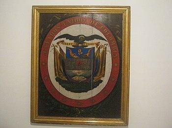 Escudo Estados Unidos de Colombia 1