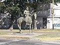 Escultura ecuestre en San Lorenzo 2019 04.jpg