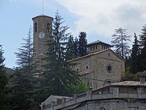 Vilada - Parish church of Saint John the Baptist
