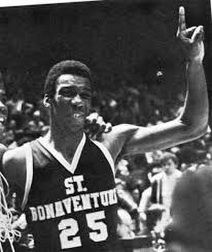Essie Hollis - Hollis during his college career at St. Bonaventure University