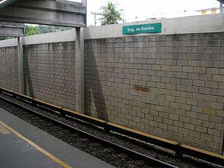 Engenho da Rainha Station metro station in Rio de Janeiro, Brazil