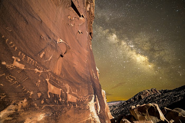 Procession Panel in the Bears Ears National Monument, by Marc Toso.