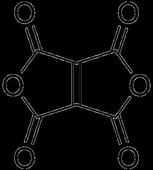 Ethylenetetracarboxylic dianhydride - Image: Ethylenetetracarboxy lic dianhydride