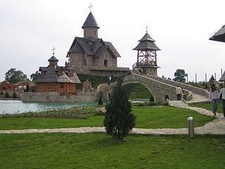 Stanišići ethno village in Bosnia