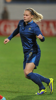 Eugénie Le Sommer Association footballer