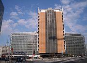Edificio Berlaymont en Bruselas, sede principal de la Comisión Europea.