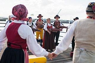 Traditional Nordic dance music
