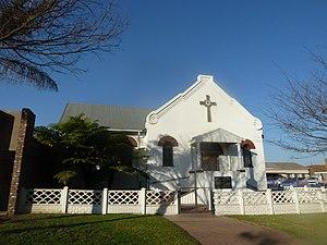 Piet Retief, Mpumalanga - Image: Evangelies Lutherse kerkgebou vir Christusgemeente, Piet Retief, a