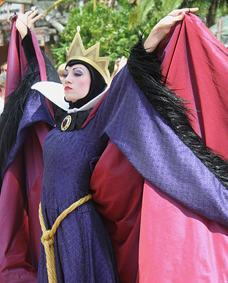 Queen (Snow White) - An entertainer dressed as the Evil Queen at the Walt Disney World