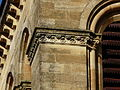 Excideuil église frise clocher.JPG