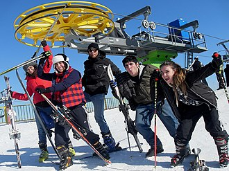 Ski resort - Tsakhkadzor ski resort in Armenia