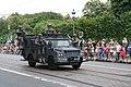 Fête nationale belge à Bruxelles le 21 juillet 2016 - Véhicule de la police belge 04 - CGSU - Unités spéciales lors du défilé.jpg