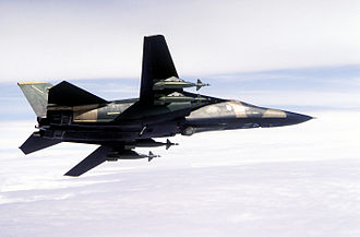Pave Tack - A 48th TFW F-111F in 1982, equipped with a Pave Tack and GBU-10s.