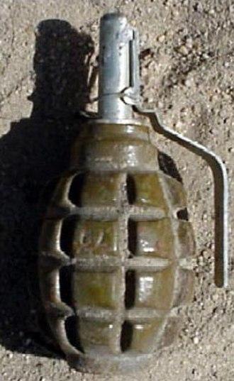 F1 grenade (France) - Postwar Soviet bloc F1 grenade