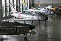 F-86K, Sabre Mk4, F-84F and F-84G (6571480667).jpg