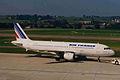 F-GJVC A320-211 Air France ZRH 31AUG98 (5854463706).jpg