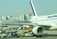 F-GRXM - A319 - Air France
