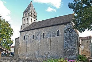 Civaux - The church of Saint-Gervais-Saint-Protais, in Civaux