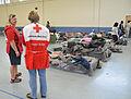 FEMA - 37967 - Red Cross workers with evacuees in Texas.jpg