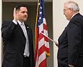 FEMA - 44009 - FEMA Administrator W. Craig Fugate swears in R 5 Administrator Andrew Velasquez in Illinois.jpg