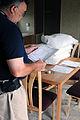 FEMA - 44259 - FEMA Housing Inspector at Temporary Unit in Mississippi.jpg