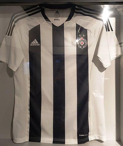 ec02428a2 Partizan s home shirt for the 2012–13 campaign.