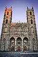 Façade de l'Église-Catholique-Notre-Dame Basilique-Notre-Dame.jpg