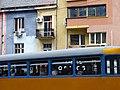 Facade with Tram - Sofia - Bulgaria (42199911884).jpg