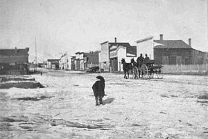 Fairplay, Colorado - Front Street, late 1800s