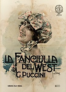 Fanciulla del West film poster by Spellani.jpg
