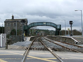 Broad-gauge railway - Irish 5 ft 3 in broad gauge tracks