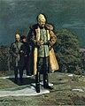 Favén, Kenraali Mannerheim katselee Tampereen valloitusta Vehmaisten kallioilta.jpg