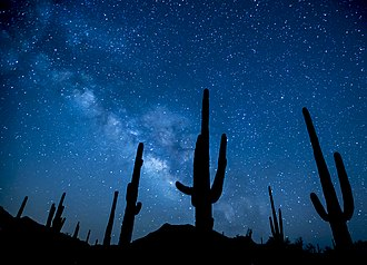 Sonoran Desert National Monument - Image: February conservationlands 15 Social Media Takeover Top 15 Places on National Conservation Lands for Night Sky Viewing (16358796247)