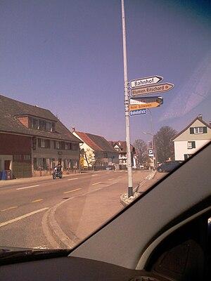 Felben-Wellhausen - Center of the village of Felben-Wellhausen