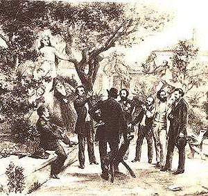 Occitan literature - Meeting of the Félibres in 1854