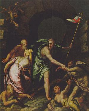 Felice Riccio - Image: Felice Brusasorci Cristo en el limbo