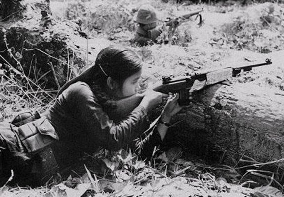 Female Vietcong Guerrilla
