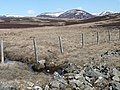 Fence crosses burn - geograph.org.uk - 771289.jpg
