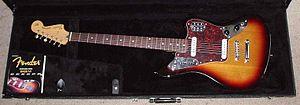 Fender Jaguar Baritone Custom - 2005 Fender Jaguar Baritone Custom, in a Fender Jazz Bass case