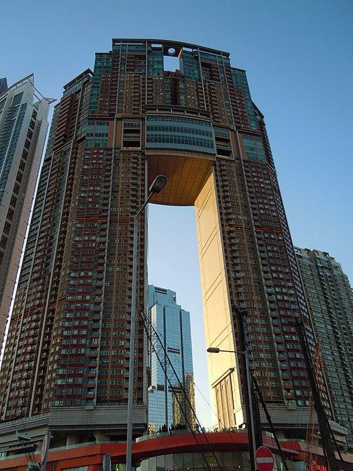 Feng Shui Building in Hongkong (Hong Kong Island)