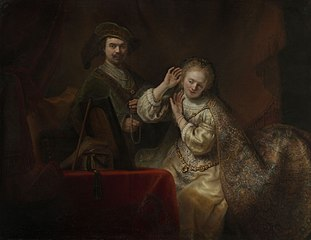 Rembrandt and his Wife Saskia