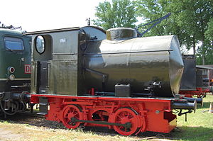 Hohenzollern Locomotive Works - Fireless locomotive built by Hohenzollern in 1911