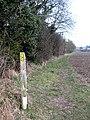 Field edge footpath ... - geograph.org.uk - 1154405.jpg