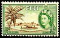 Fiji 1954 health stamp.jpg